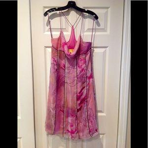 Catherine Malandrino Sz 8 Pink Dress